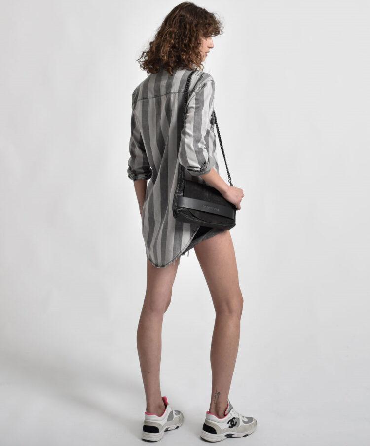 Mequieres Tarifa French Grey Stripe