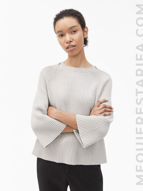 mequieres-ribbed-cotton-sweater-stone