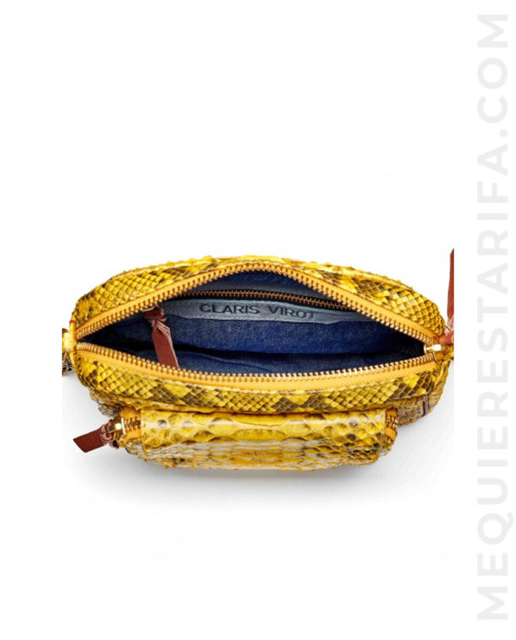 mequieres_yellow_charly_python_bag