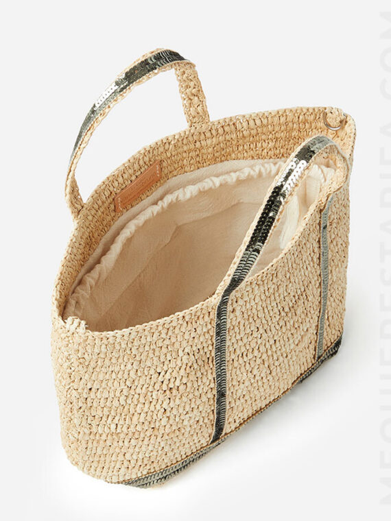 mequieres-raffia-and-sequins-s-cabas-tote