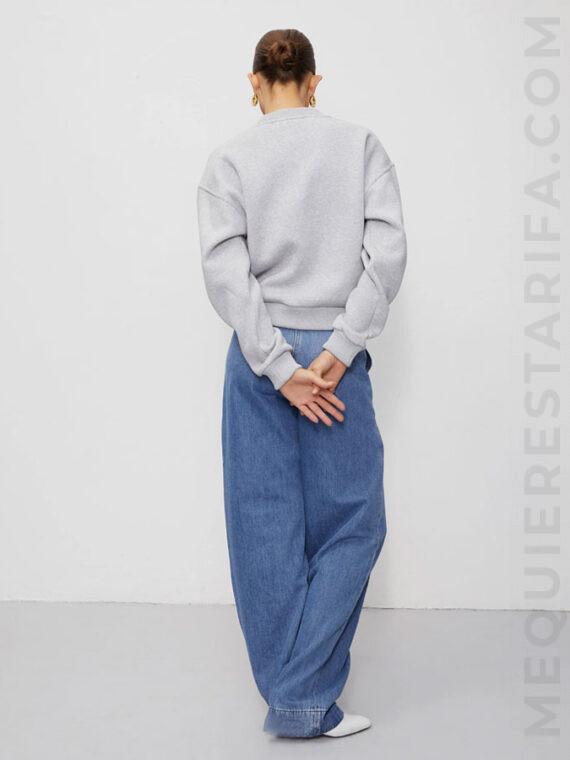 mequieres-ross-sweatsrt-light-grey-melange-knit