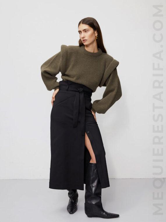 mequieres-rosa-skirt-noir-woven