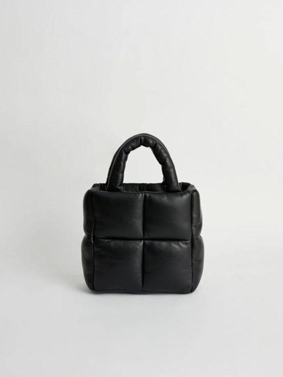 mequieres-rosanne-puffy-bag-topaz-black